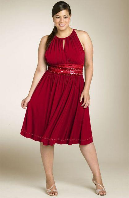 vestido-de-madrinha-vermelho-curtos