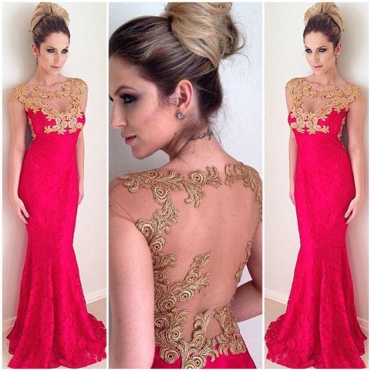 vestido-de-madrinha-vermelho-dourado