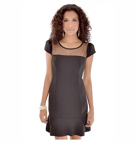 vestido-neoprene-com-tule-looks