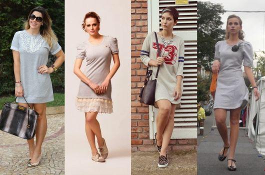 Vestido de Moletom: Como usar? Modelos e mais de 60 looks incríveis