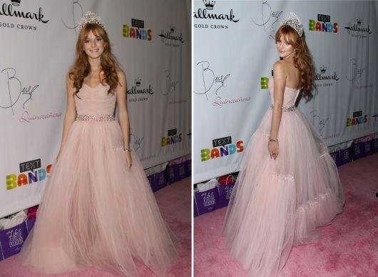 Precos vestidos de festa rosa clara