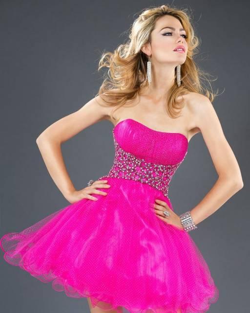 vestido-de-15-anos-rosa-curto