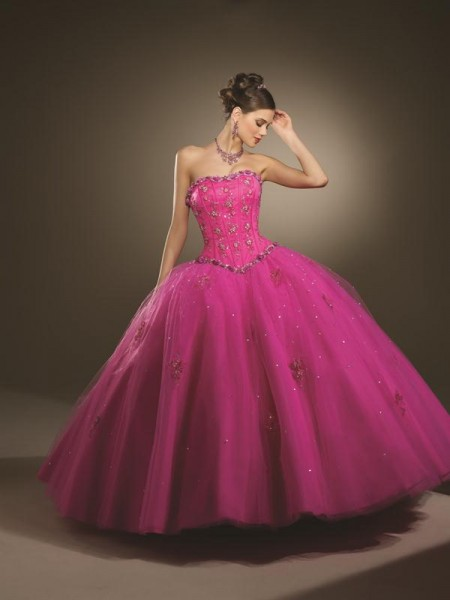 vestido-de-15-anos-rosa-forte