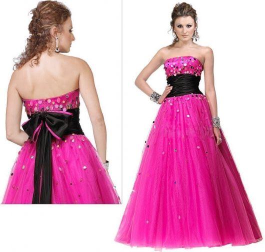 vestido de 15 anos rosa conhe a 50 modelos para voc ficar linda. Black Bedroom Furniture Sets. Home Design Ideas