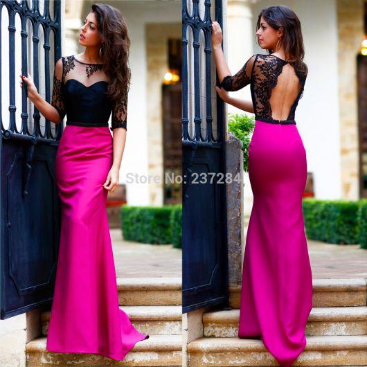 vestido-de-15-anos-rosa-longo