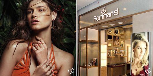 anéis de falange da marca Rommanel