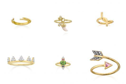 anéis de falange da marca Amsterdam Sauer
