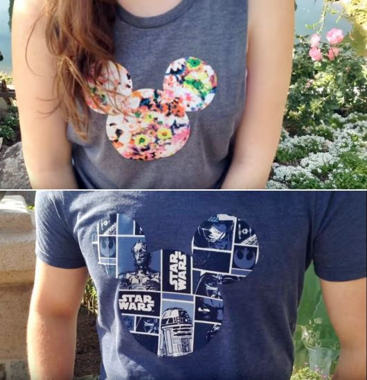 blusa do mickey com estampa variada