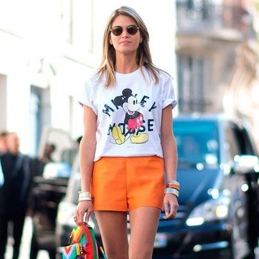blusa do mickey e minnie para usar no verão