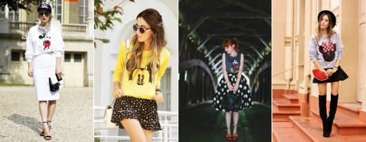 blusa do mickey e minnie para sair arrasando!