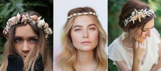 modelos de coroa de sereia simples