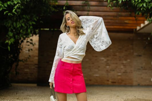 look com saia pink