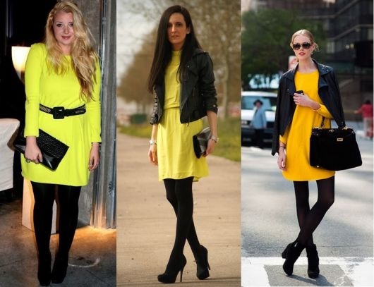 looks-com-meia-calca-com-vestido-amarelo
