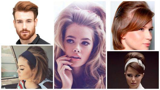 Penteados anos 60: inspirações femininas e masculinas, e como fazer!