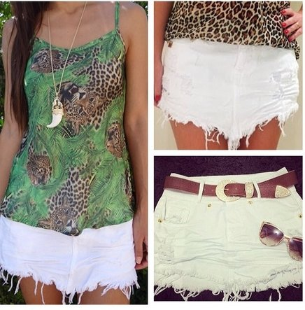 saia-jeans-curta-branca-ideias