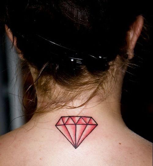 diamante simples preenchido