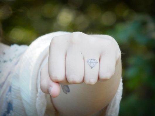 tatuagem dedo anelar