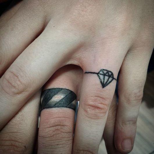 tatuagem de anel