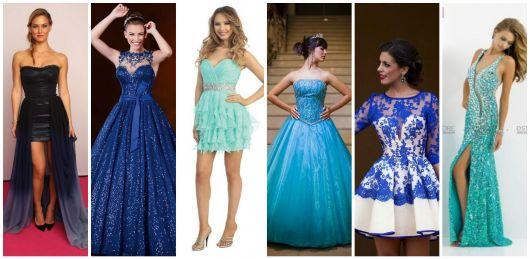 Vestido de 15 anos azul: 57 modelos incríveis para a festa de debutante!