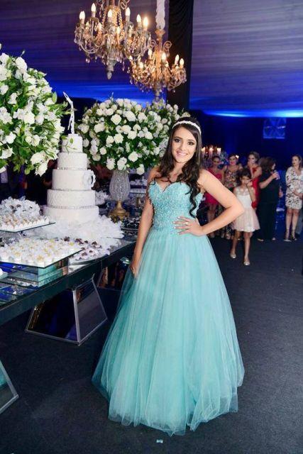 vestido princesa tiffany