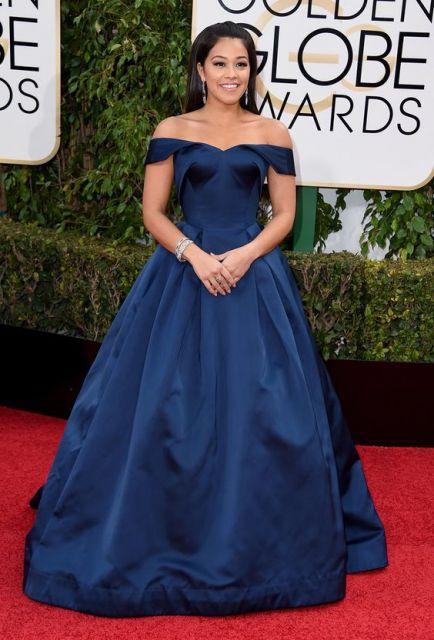 vestido azul marinho princesa