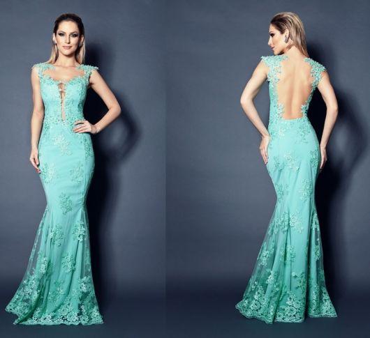 Resultado de imagem para Modelos de Vestidos Sereia -