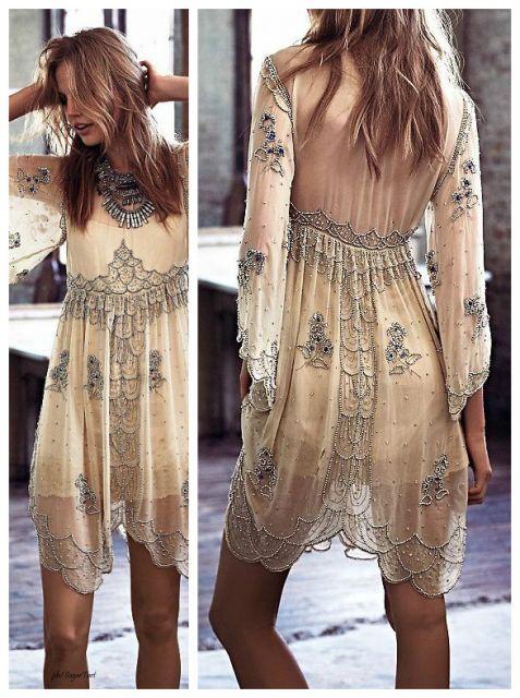 vestido bordado festa