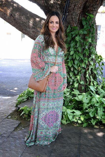 vestido túnica manga lonfa