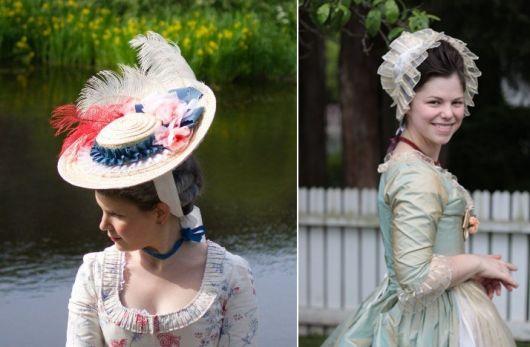 modelos de vestido de época colonial