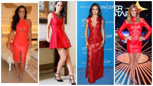 modelos vermelhos