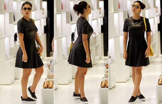 1686b952b Vestido de couro  como usar  60 inspirações de looks e modelos!
