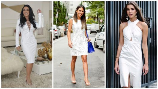 modelos de vestido branco