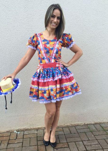 vestido-de-festa-junina-curto