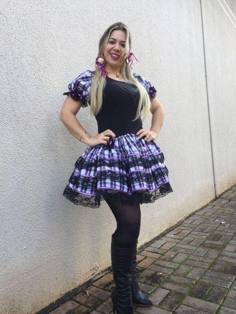 Vestido de Festa Junina  O que usar  Veja mais de 50 modelos lindos! 1f861e4e8aa