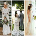 Vestido de noiva boho: 46 modelos incríveis para o grande dia!