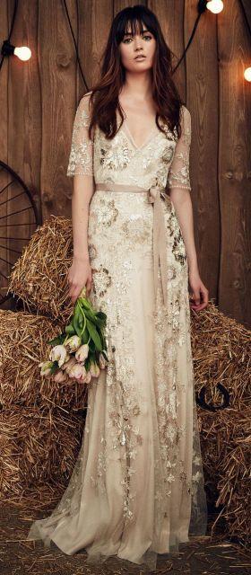 Abito Matrimonio Gipsy : Vestido de noiva boho modelos incríveis para o grande dia