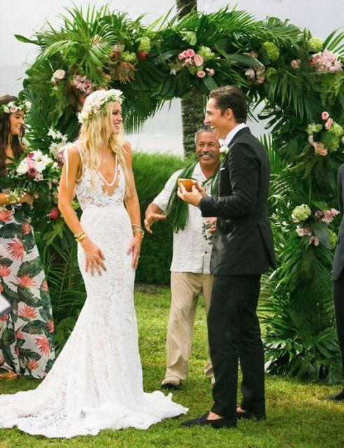 vestido sereia noiva