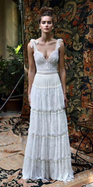vestido de renda boho