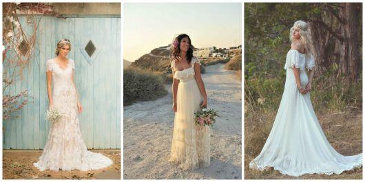 estilos de vestido de noiva