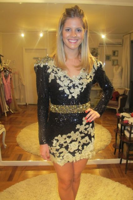 07296370c Vestido de Paetê: 80 looks perfeitos para arrasar em qualquer festa!