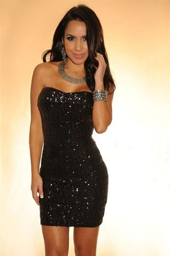 Pode usar vestido de paete preto em casamento