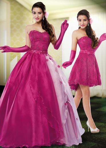 f16720caeb Vestido de Debutante 2 em 1  Dicas para usar e 40 modelos lindos