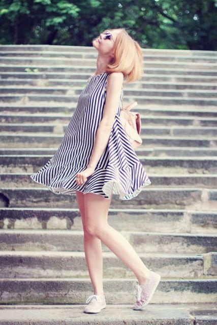Vestido Trapézio: Como usar? Várias dicas e + de 70 looks supreendentes