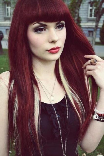 cabelo-com-mecha-branca-cabelo-colorido