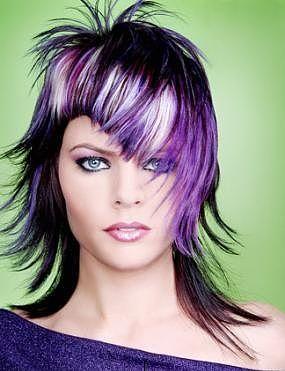 cabelo-com-mecha-branca-cor-roxo