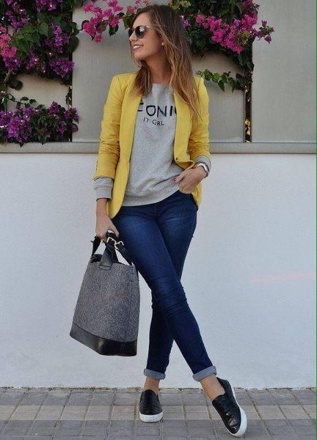 looks-meia-estacao-com-blazer-amarelo