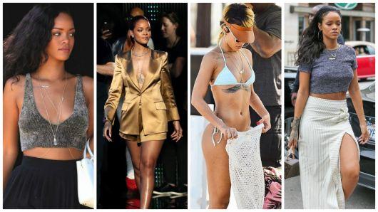 looks Rihanna