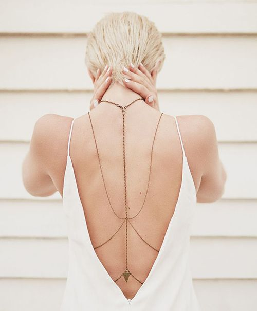 colar de costas