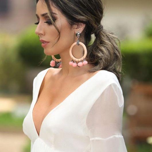 look blusa branca