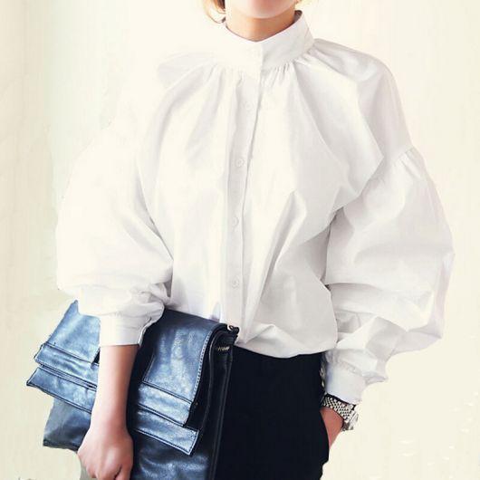 camisa oversized feminina com calça social
